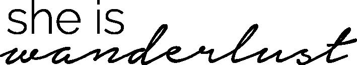 She is Wanderlust Logo
