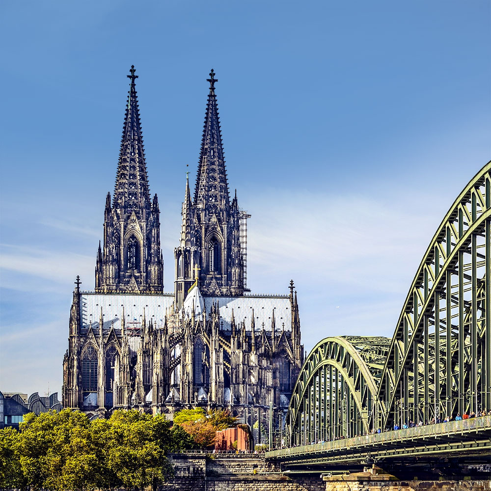 View of the towers of the cologne cathedral 10 awesome things to do in Cologne