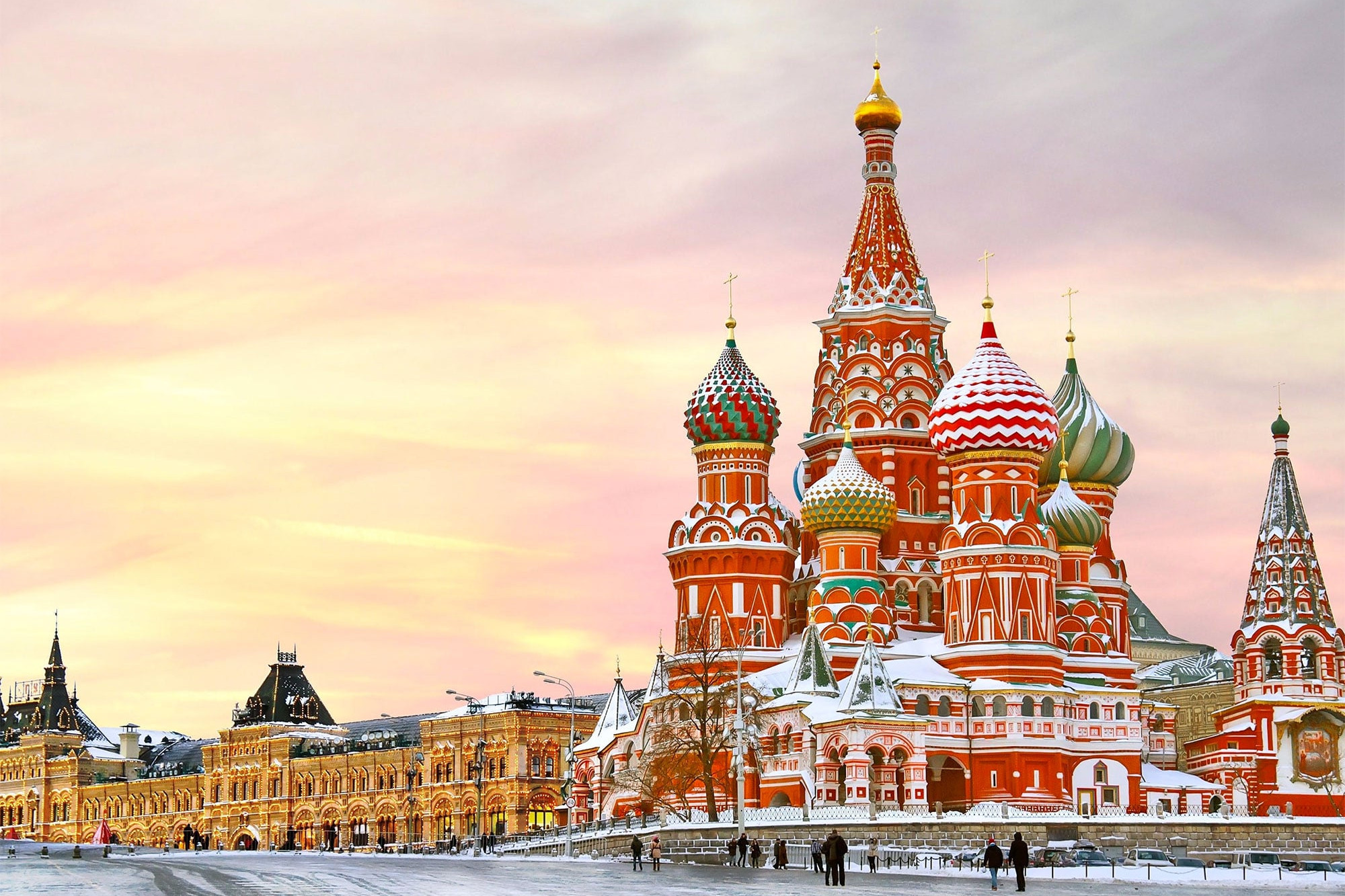 Travel Moscow Red Square