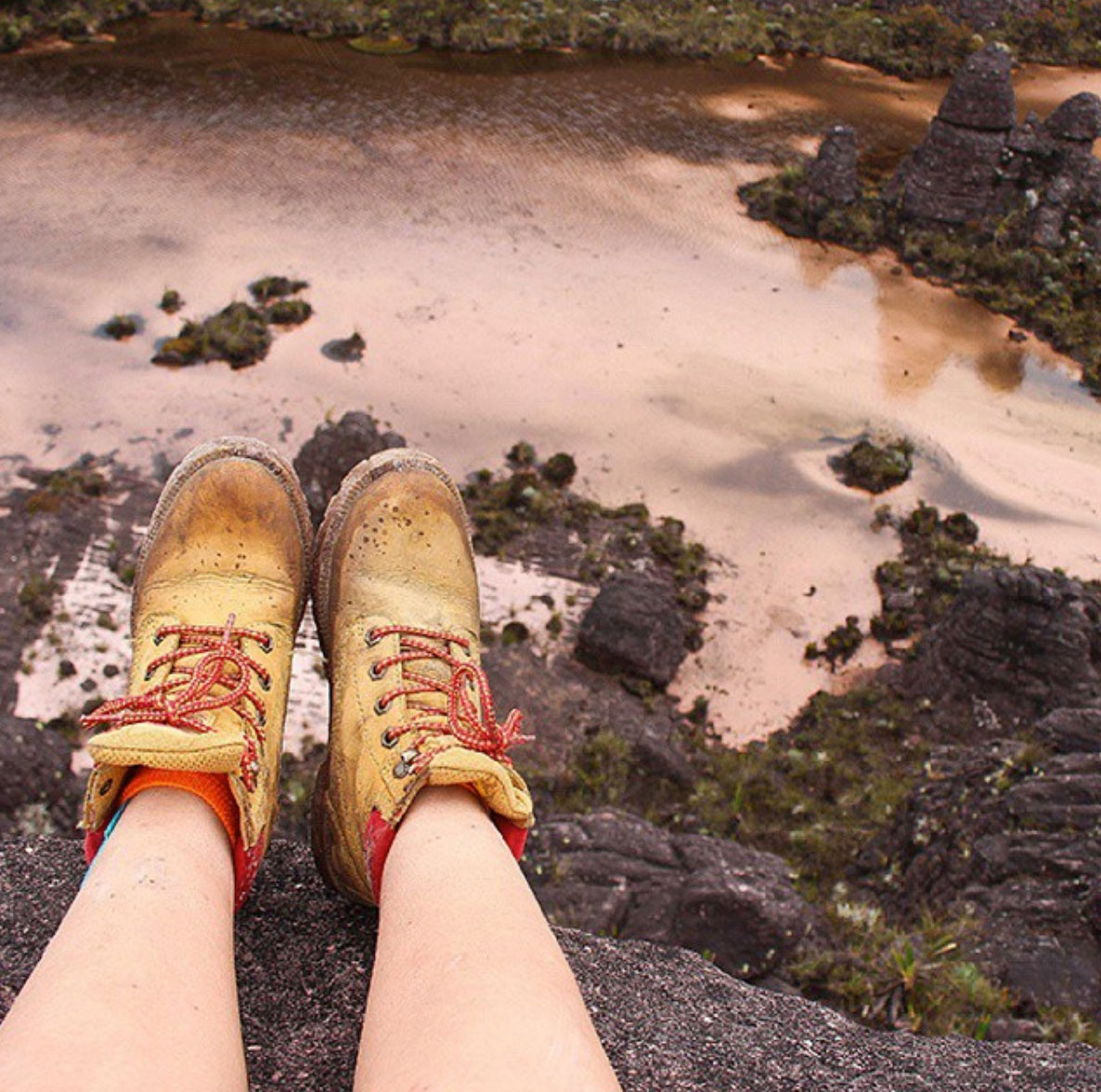 Dirty Boots in The roraima