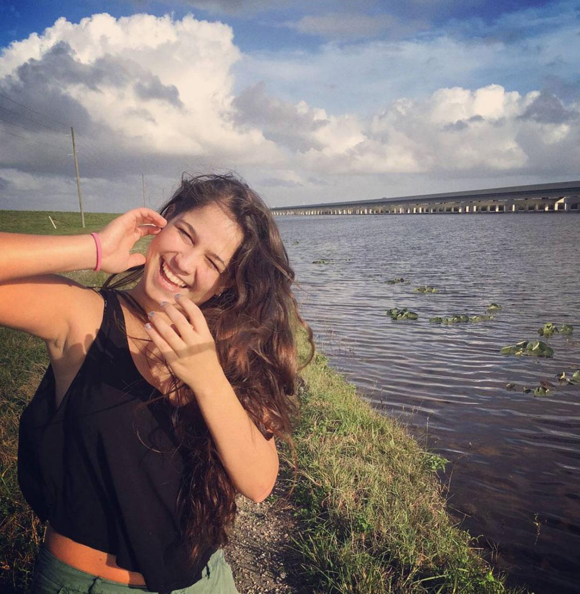 Selene in the everglades