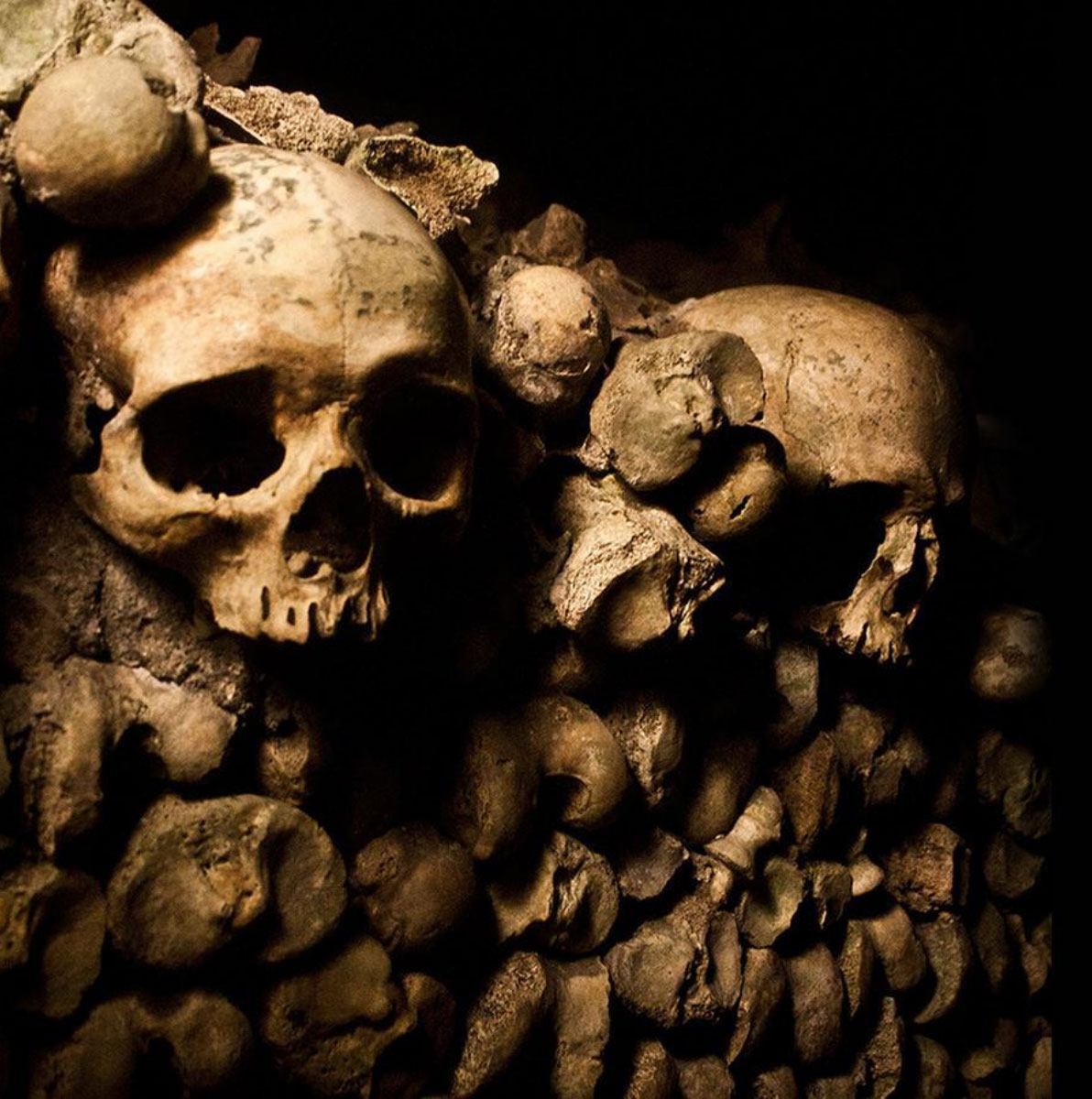 The Catacombs in Paris, France