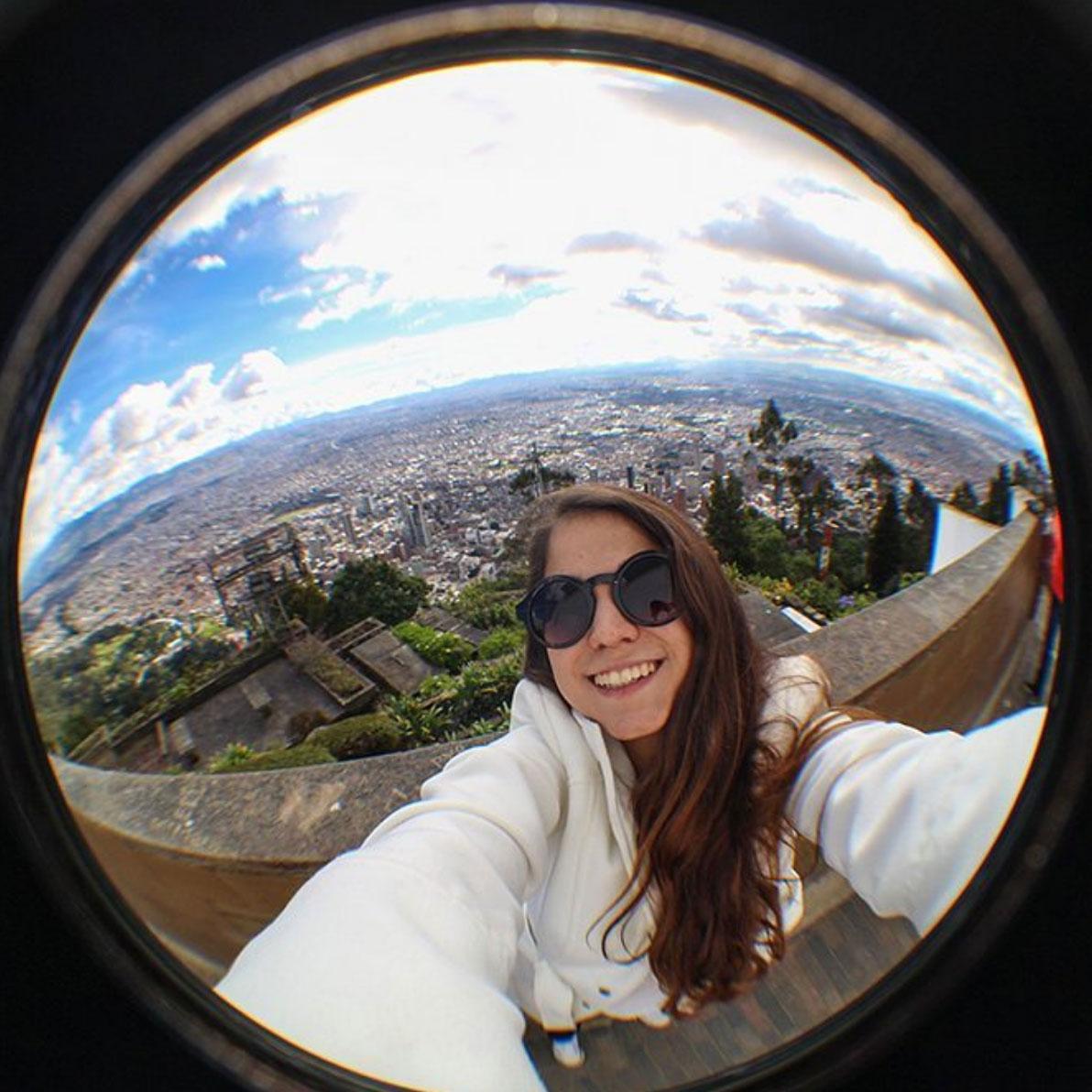 Selfie in Bogota