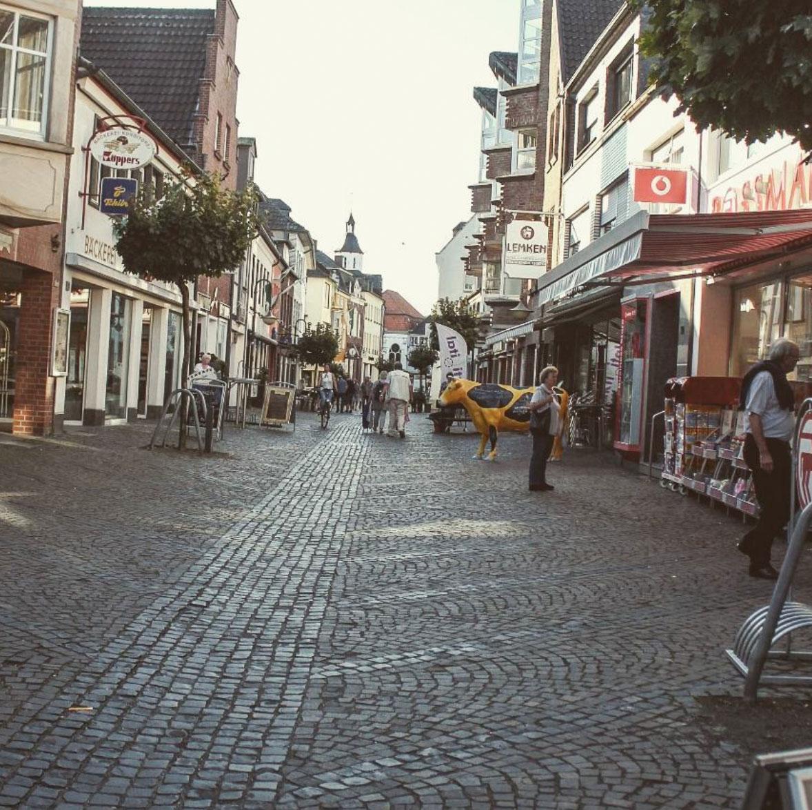 Streets of Xanten, Germany