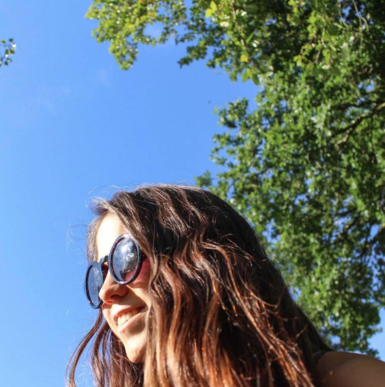 Selene in the sun