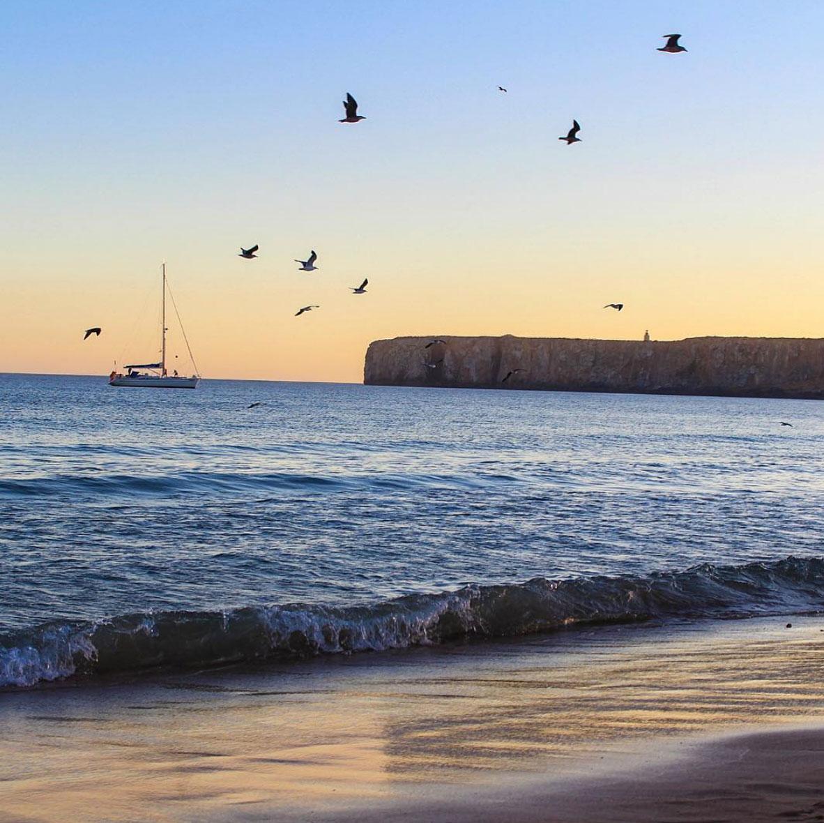 Sunset in Algarve, Portugal
