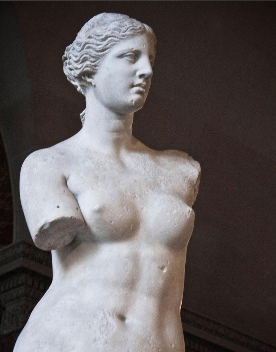 Sculpture at Louvre Museum