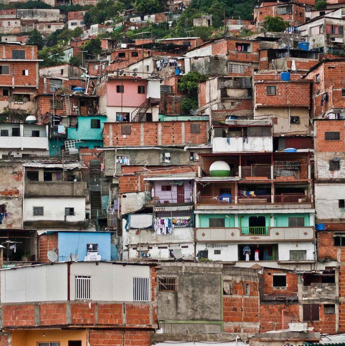 Barrio in Caracas, Venezuela