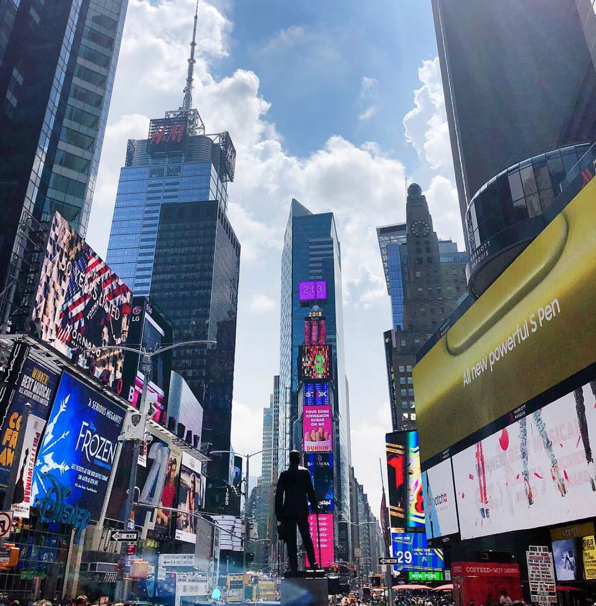 Time Square in New York