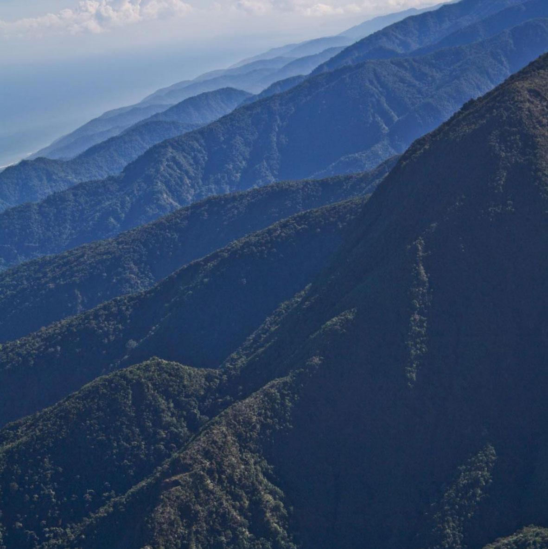 Mountains in Galipan, Caracas, Venezuela
