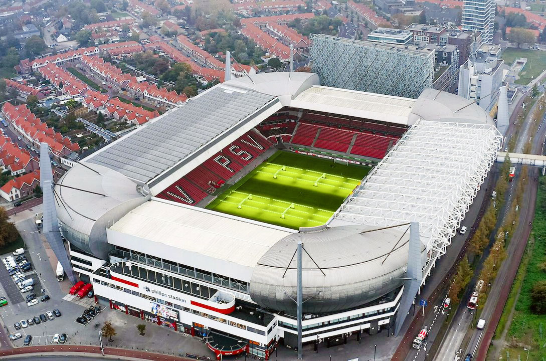 The Philips Stadion in Eindhoven