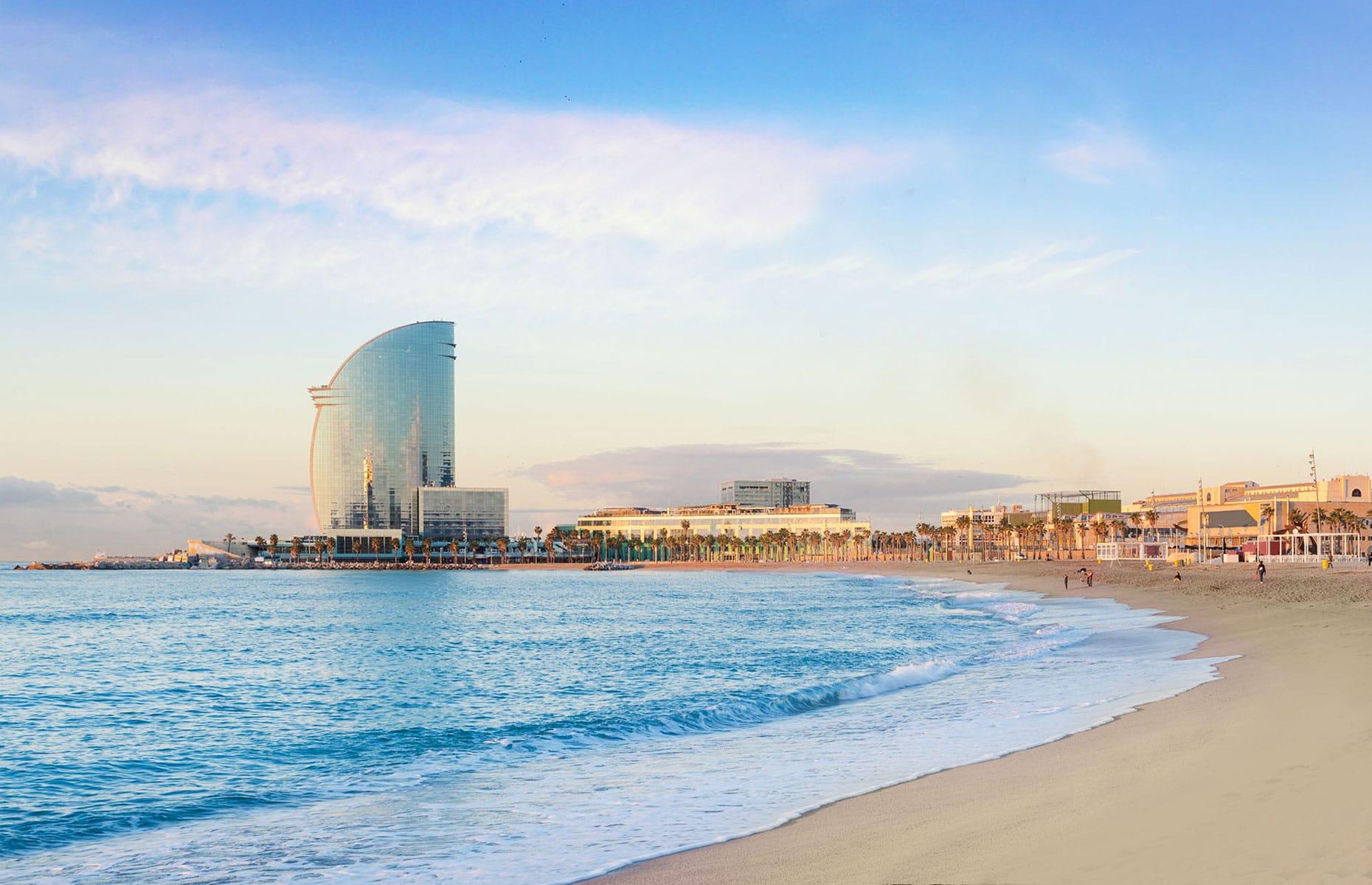 La barceloneta playa barcelona