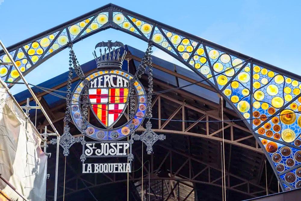 Mercat St Joseph la boqueria barcelona