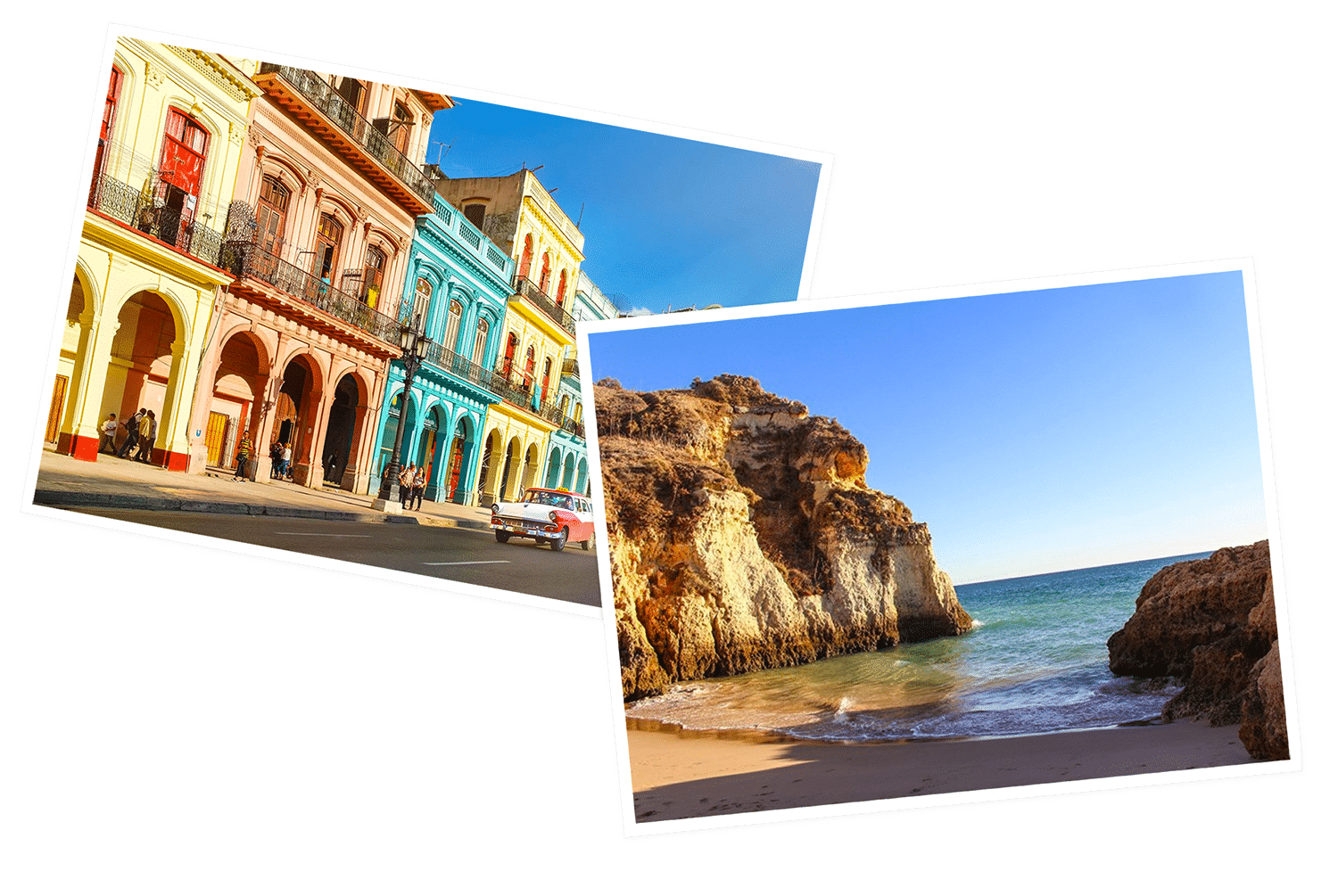 Postcards of the Havana and Algarve