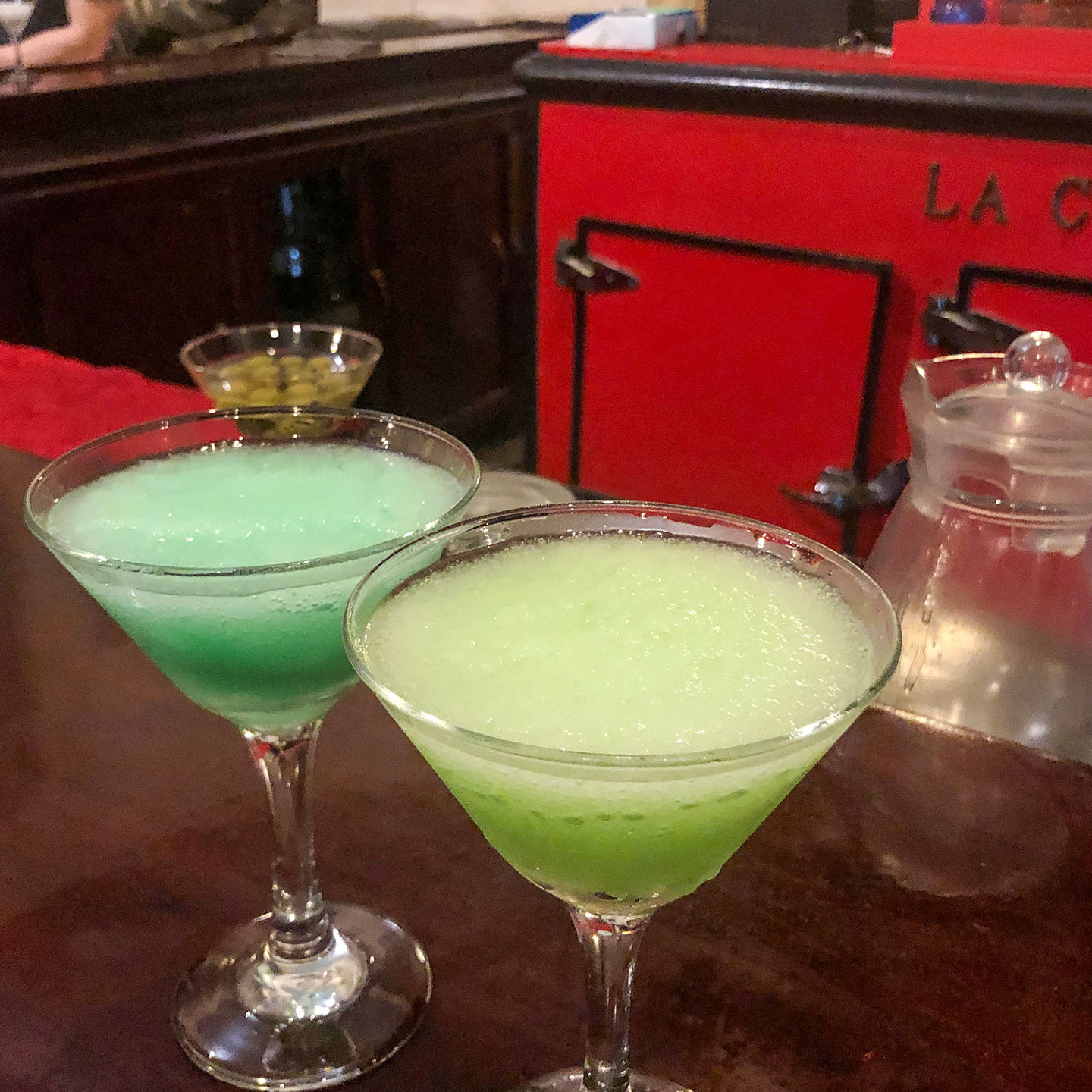 Daiquiris at el Floridita in Havana, Cuba