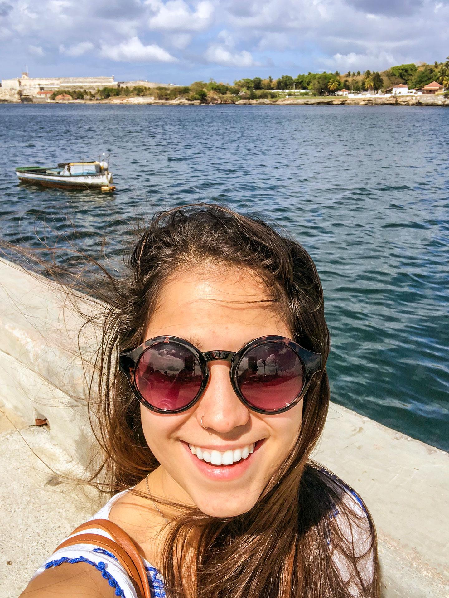 Selfie in Havana
