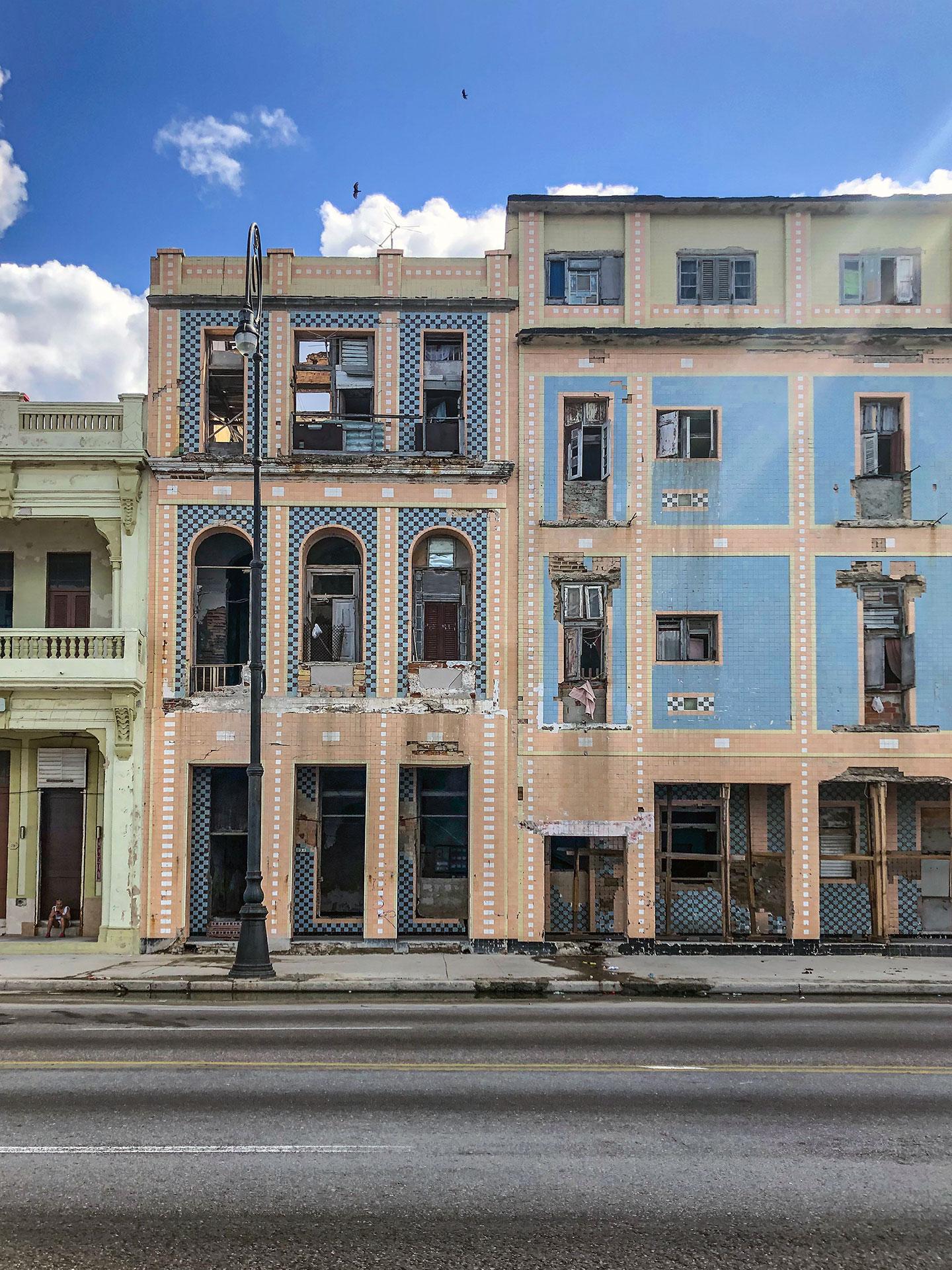Classic building in Havana, Cuba