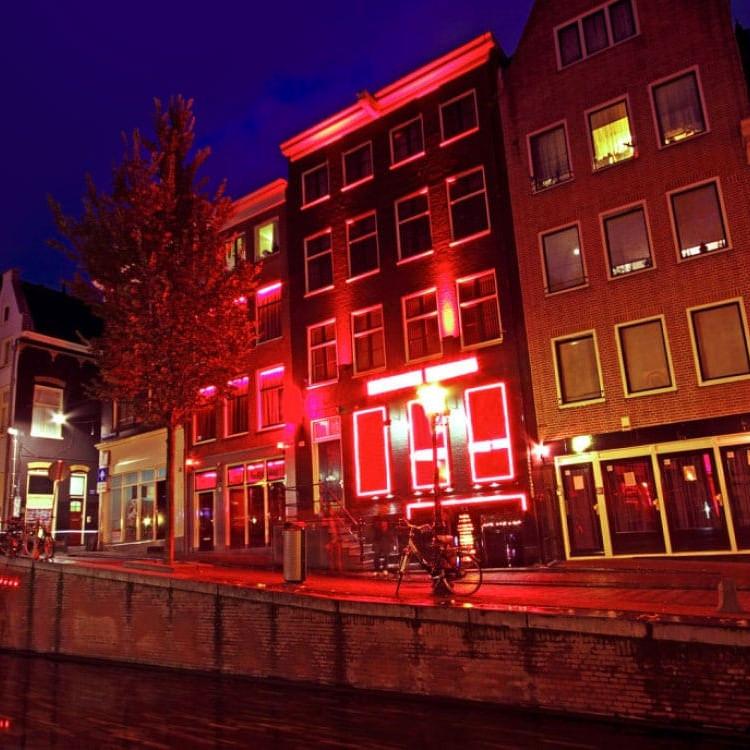 red light in amsterdam