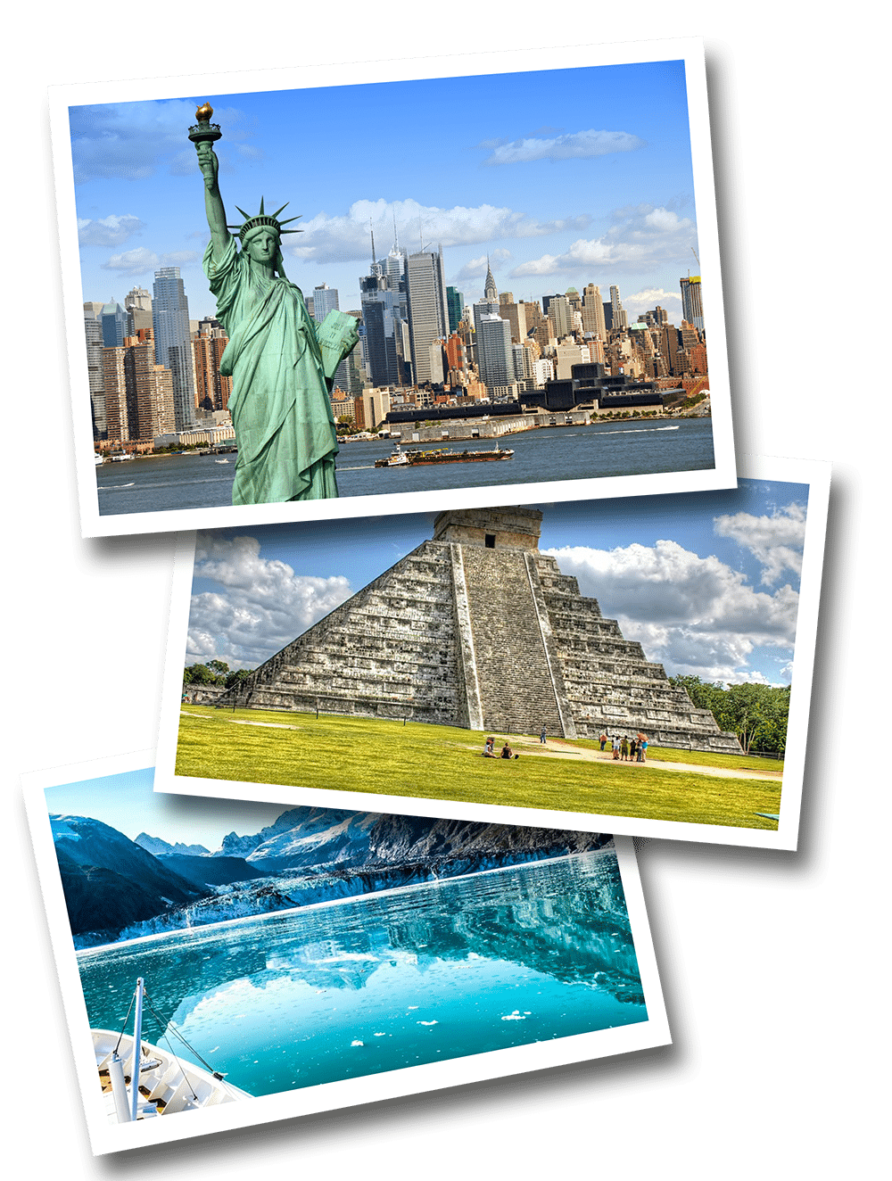 North america postcards