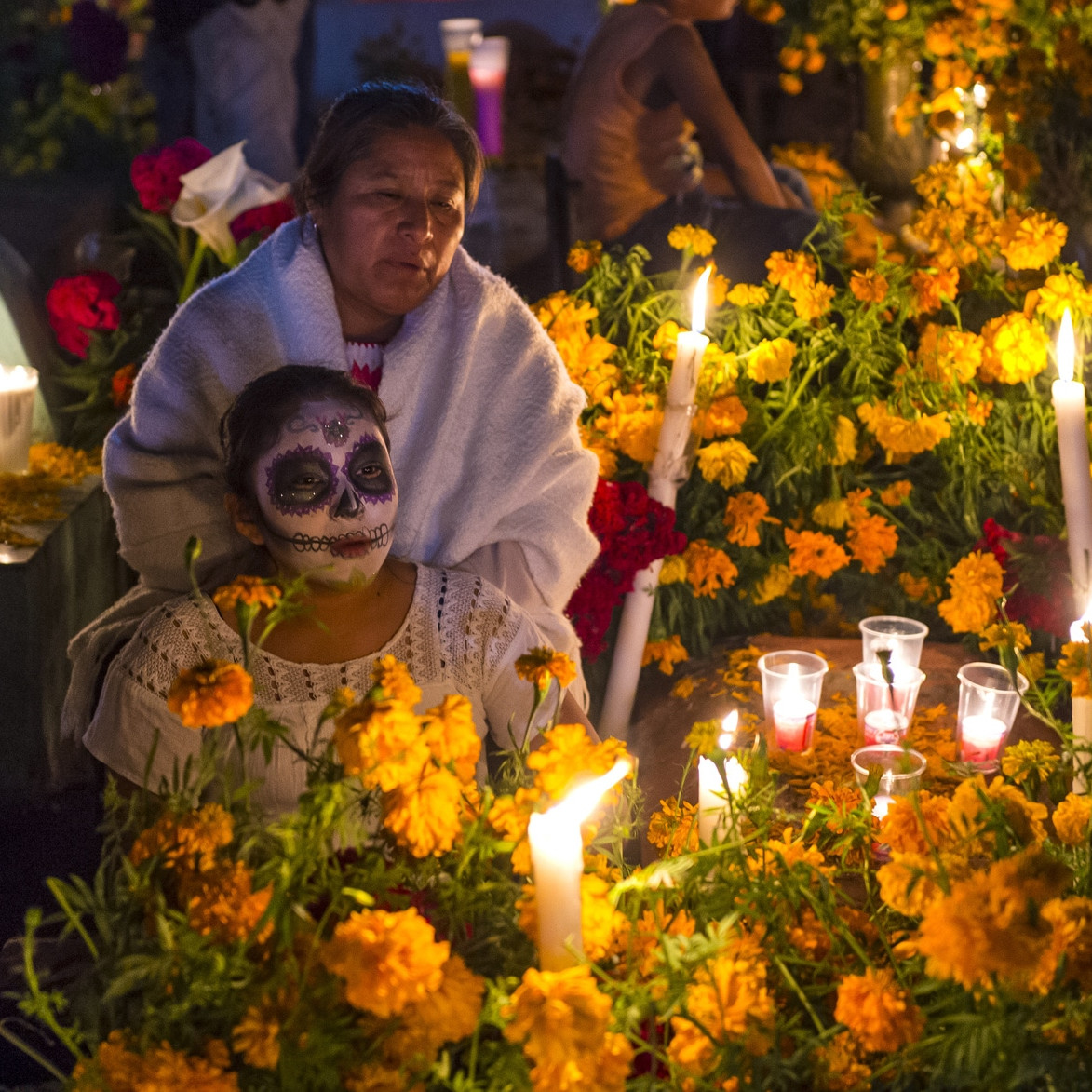 Day of the dead tradition in mexico