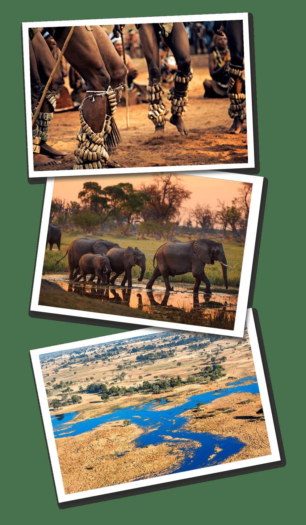 Botswana postcards