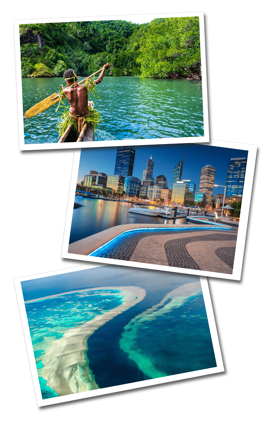 Oceania postcards