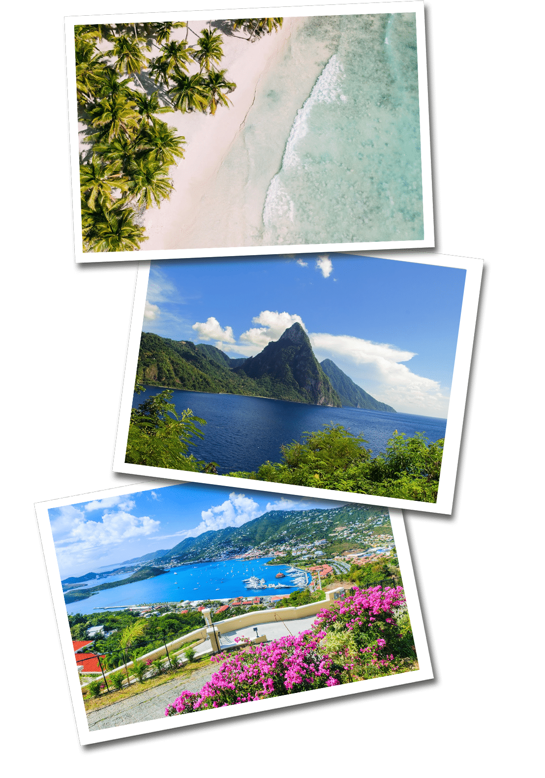 The caribbean postcards