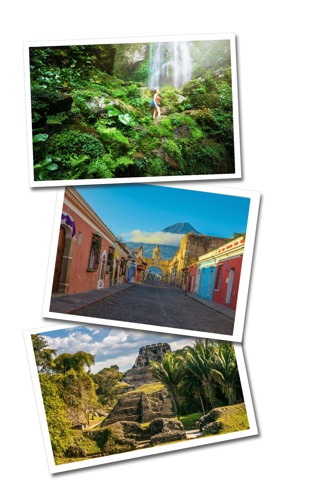 Central america postcards