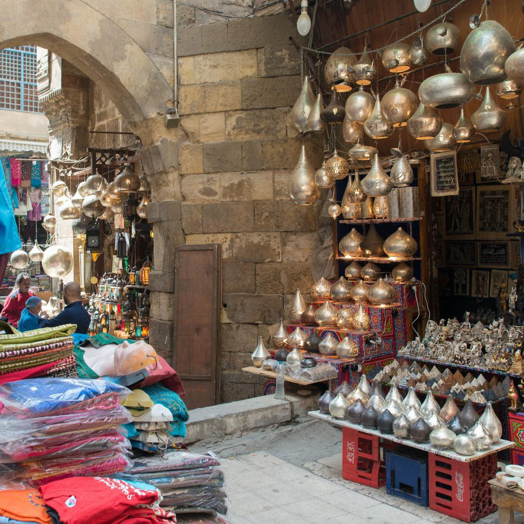 khan-el-khalili in egypt