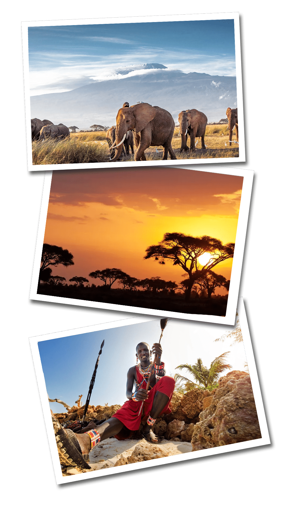 Kenya postcards