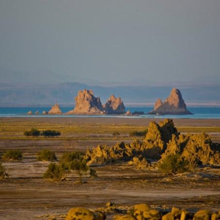 Lake Abbe Africa Djibouti