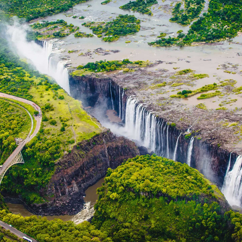 victoria falls Zambia Zimbabwe travel guide