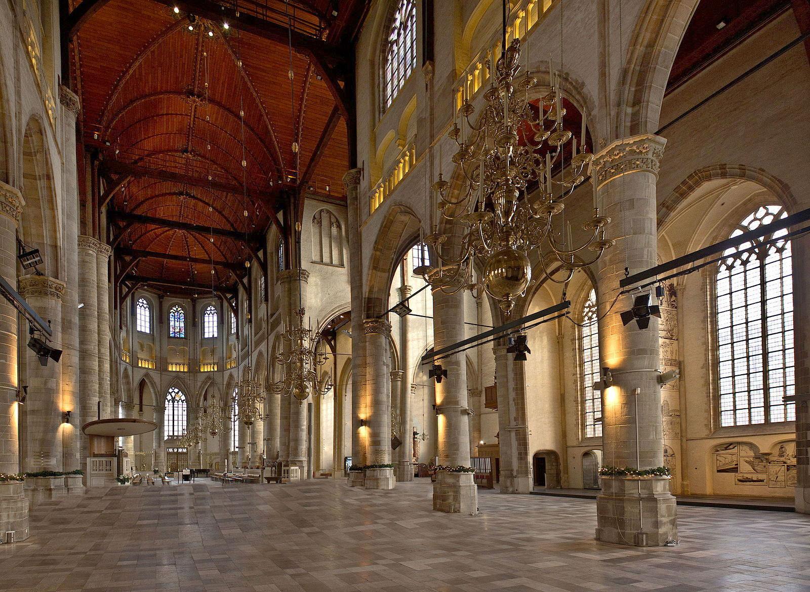 Grote of sint-laurenskerk Rotterdam