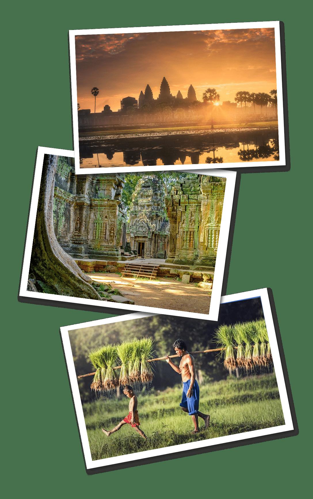 Cambodia postcards