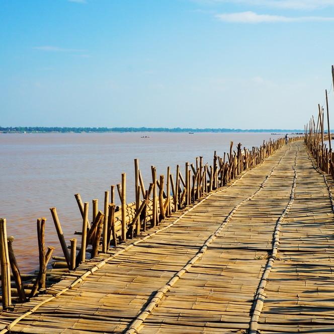 Bamboo Bridge Cambodia