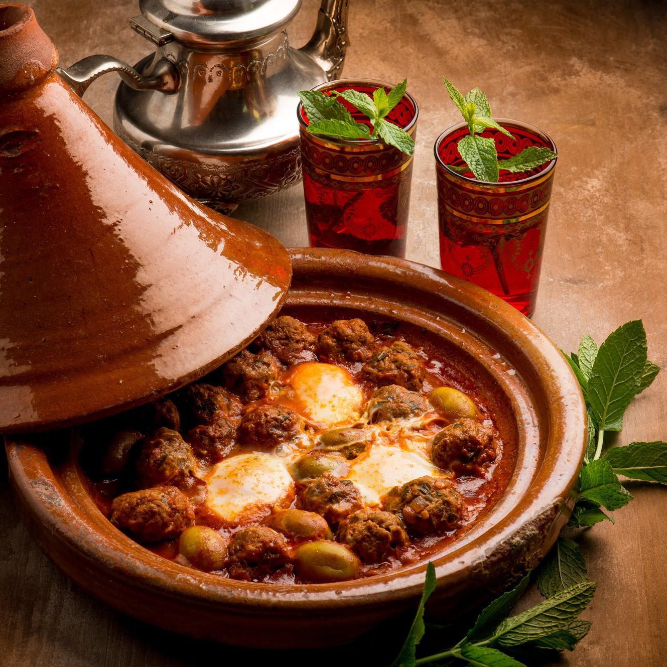 Tajine Moroccan food