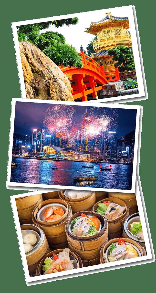 Hong Kong postcards