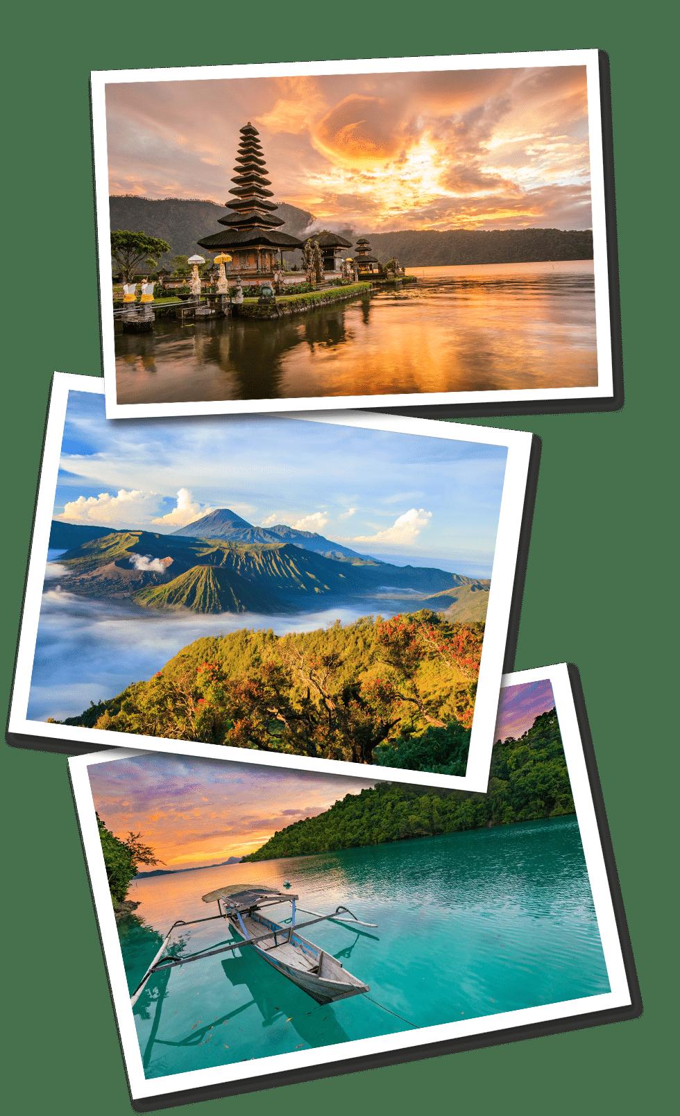 Indonesia Postcard desktop