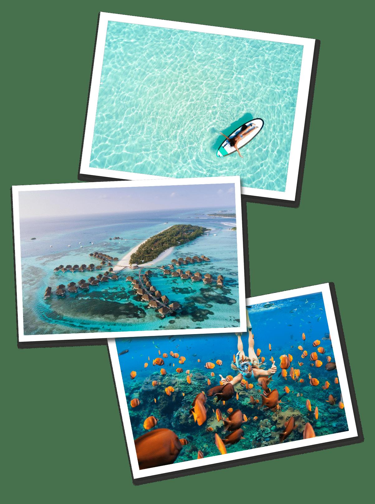Maldives postcards mobile