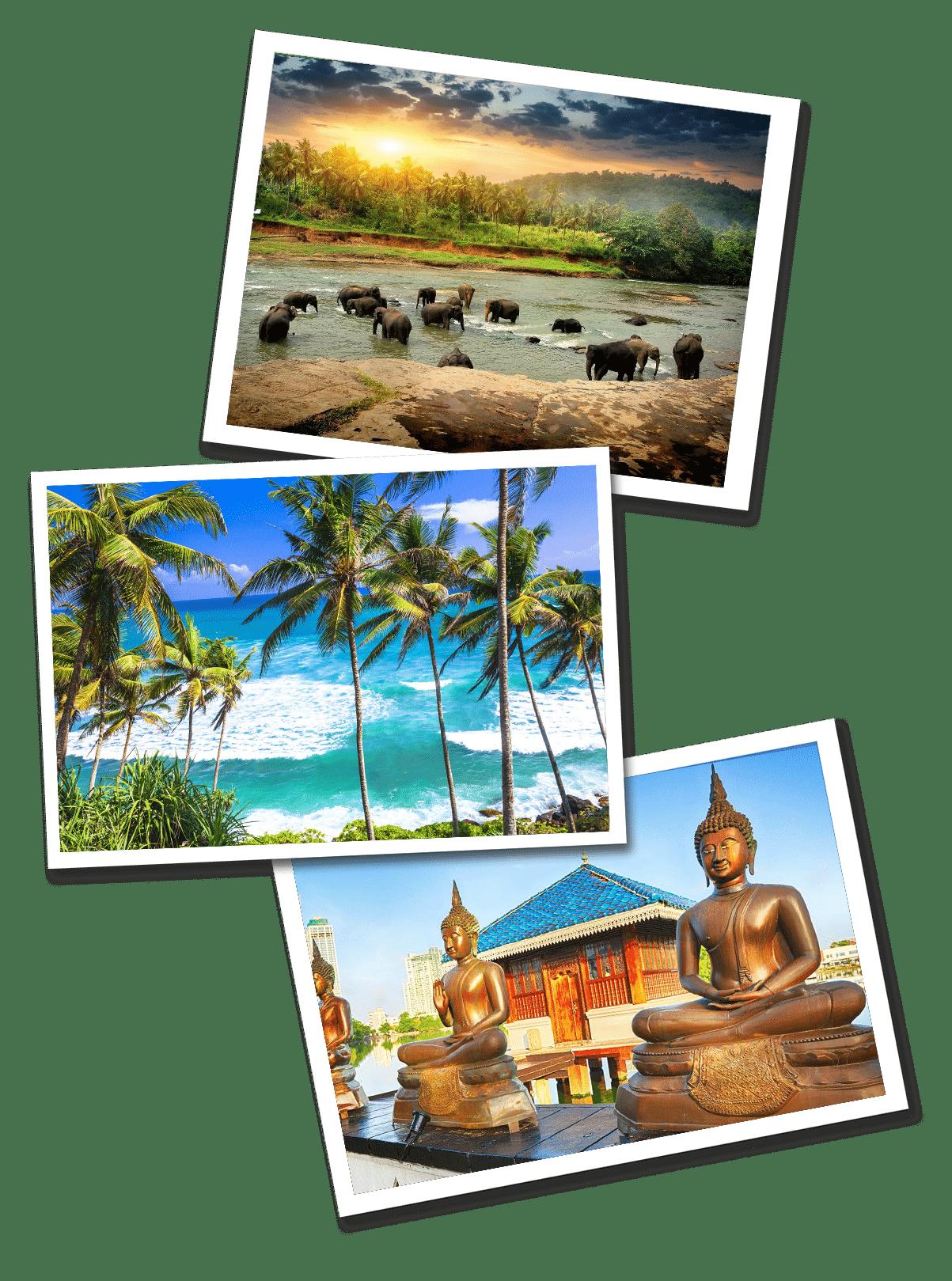 Sri Lanka Postcards