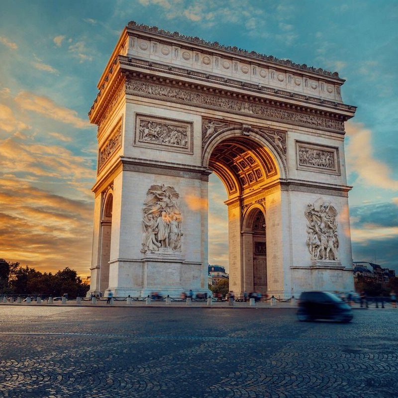 Arc of triumph paris