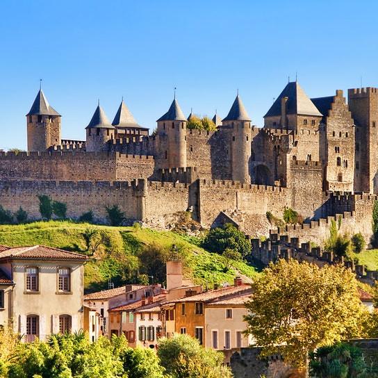 Carcasonne medieval city