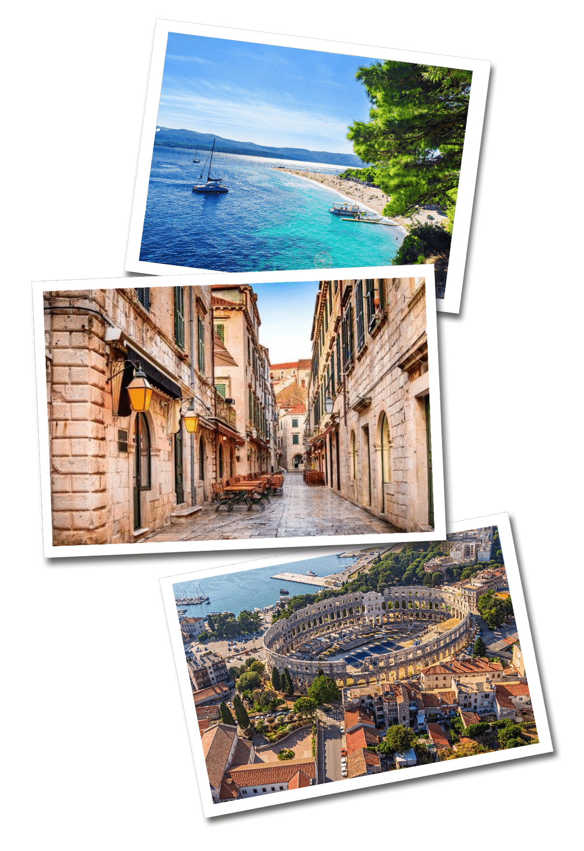 Croatian postcards