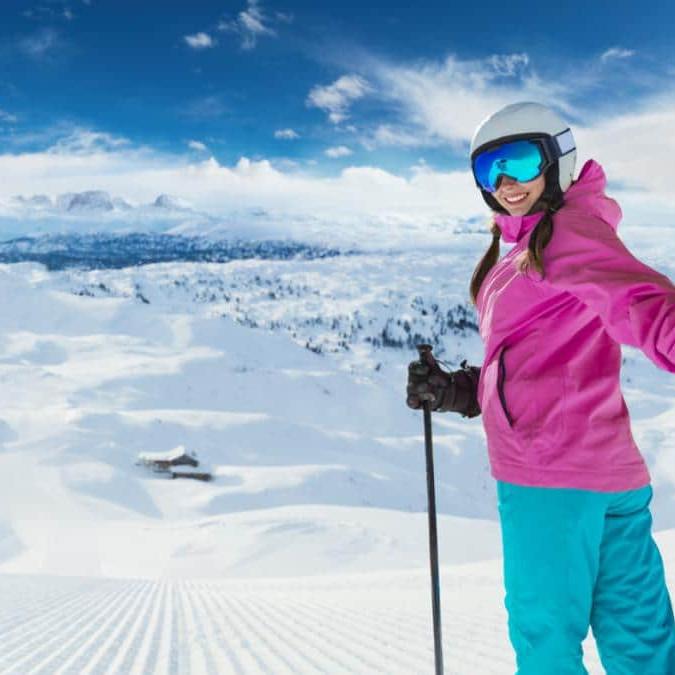 ski on the alps