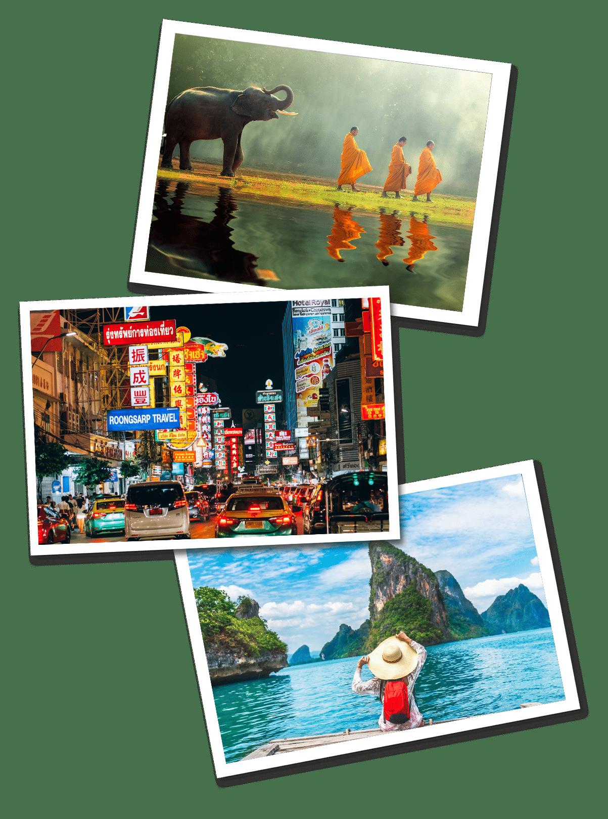 Thailand Postcards