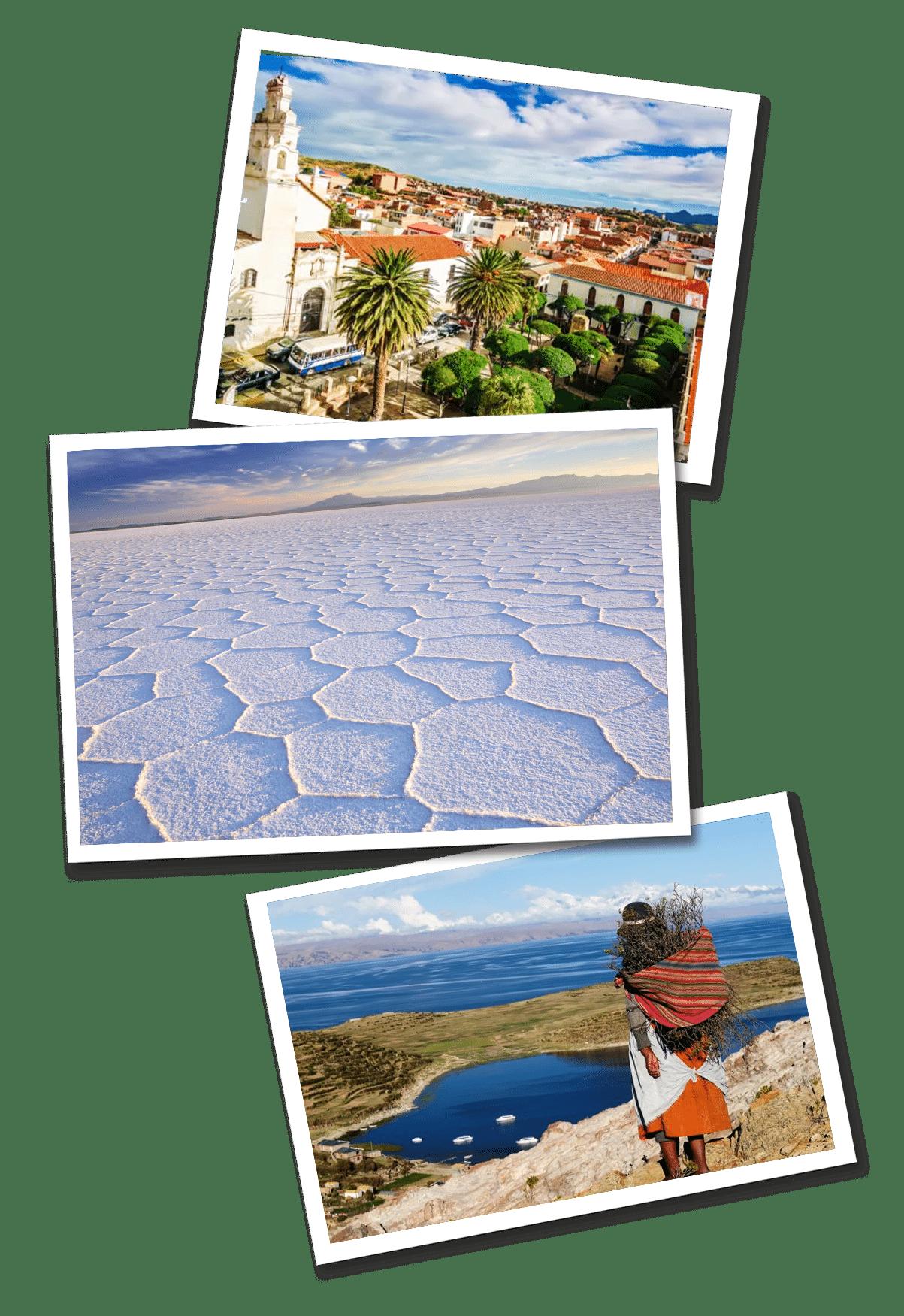 bolivia postcards