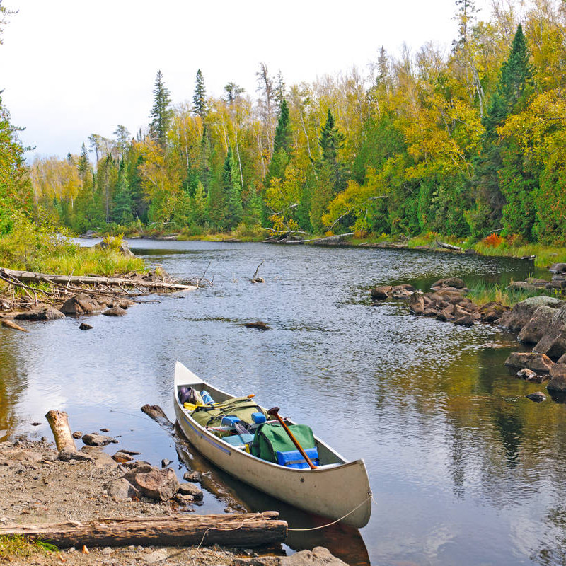 Canoe the Boundary Waters in Minnesota