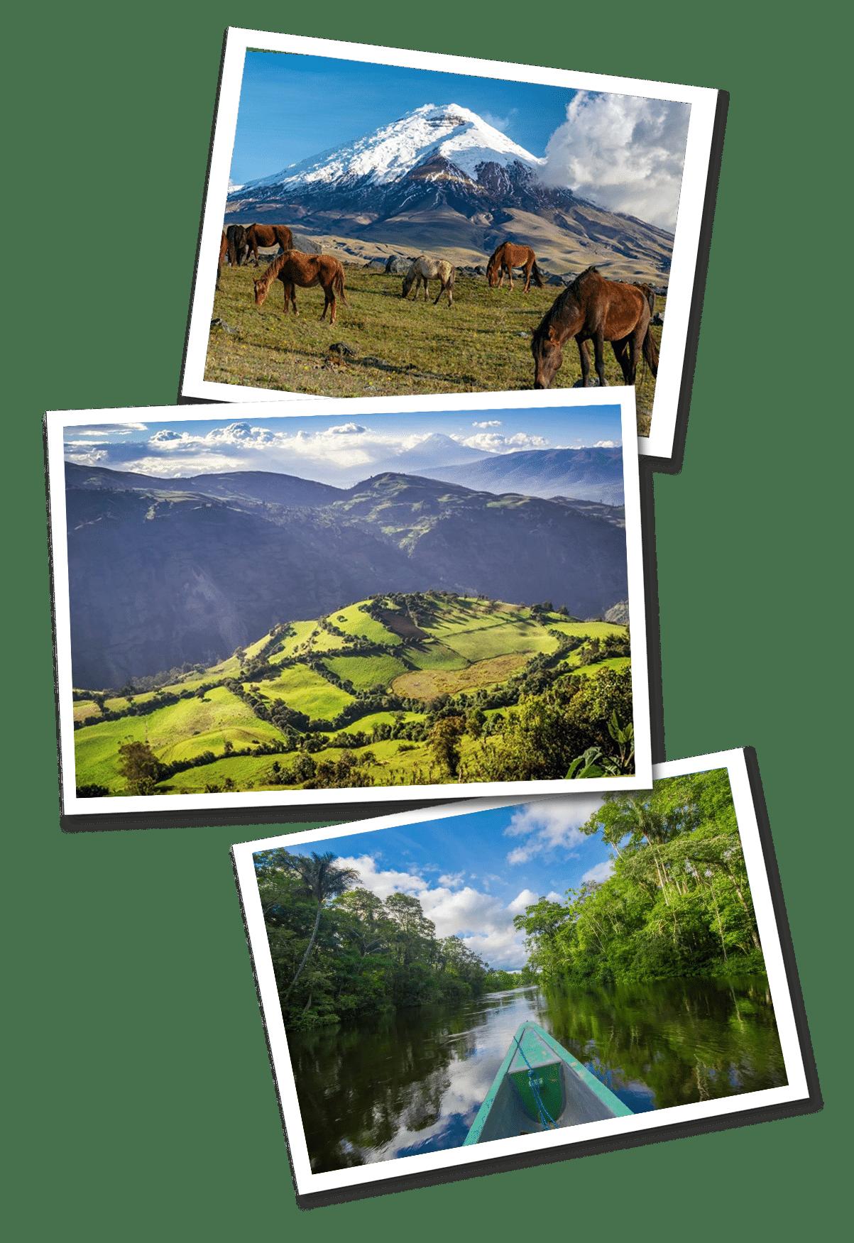 Ecuador postcards