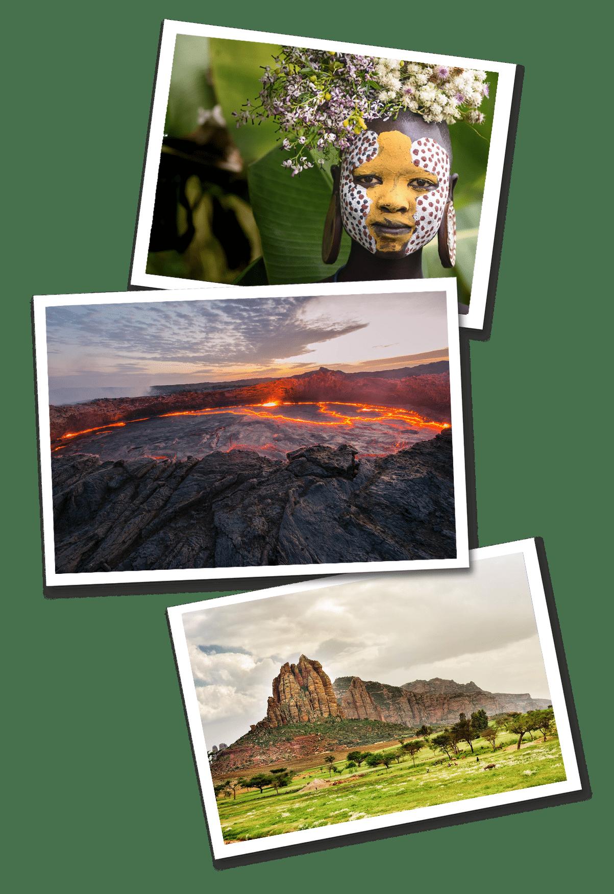 ethiopia postcards