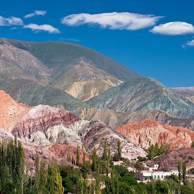 Hill of the 7 colors argentina
